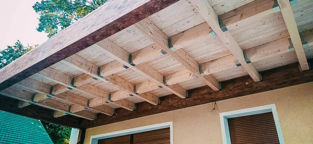 Zadaszenia z użyciem drewna konstrukcyjnego w szczecinie