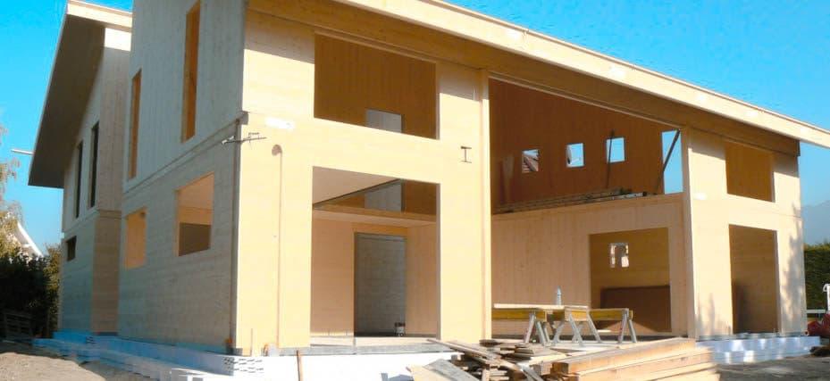 Drewno konstrukcyjne klejone w wielowarstwowe panele w szczecinie
