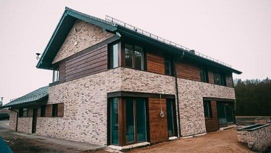 Dom w stylu skandynawskim w szczecinie
