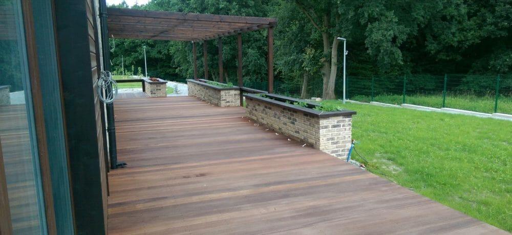 Budowanie tarasów z drewna europejskiego Szczecin