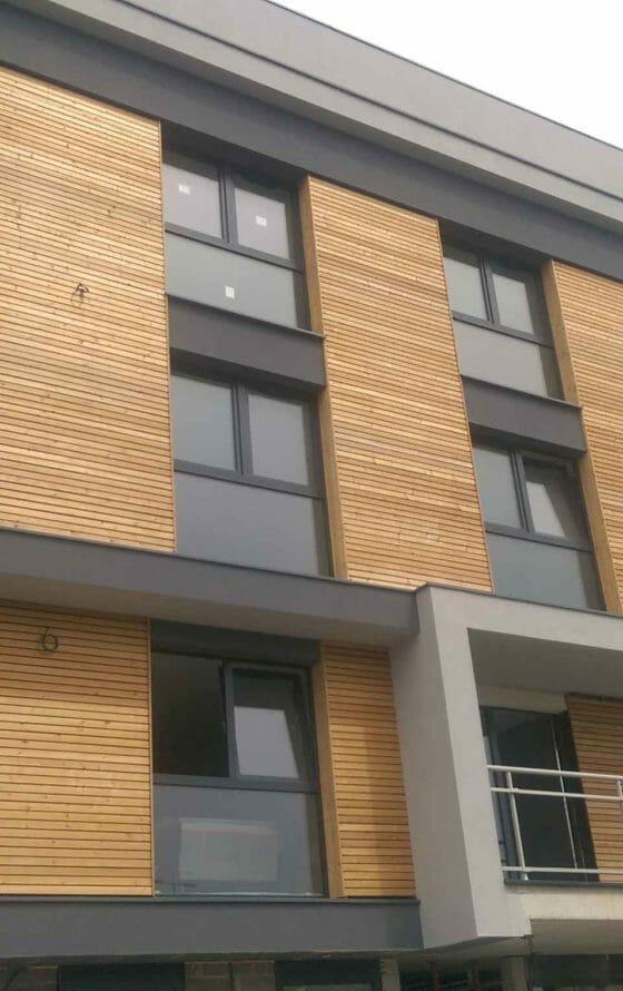 Budynek użyteczności publicznej z modrzewiu Szczecin