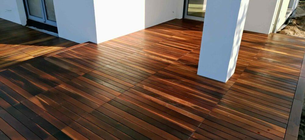 Budowa tarasów z drewna Szczecin